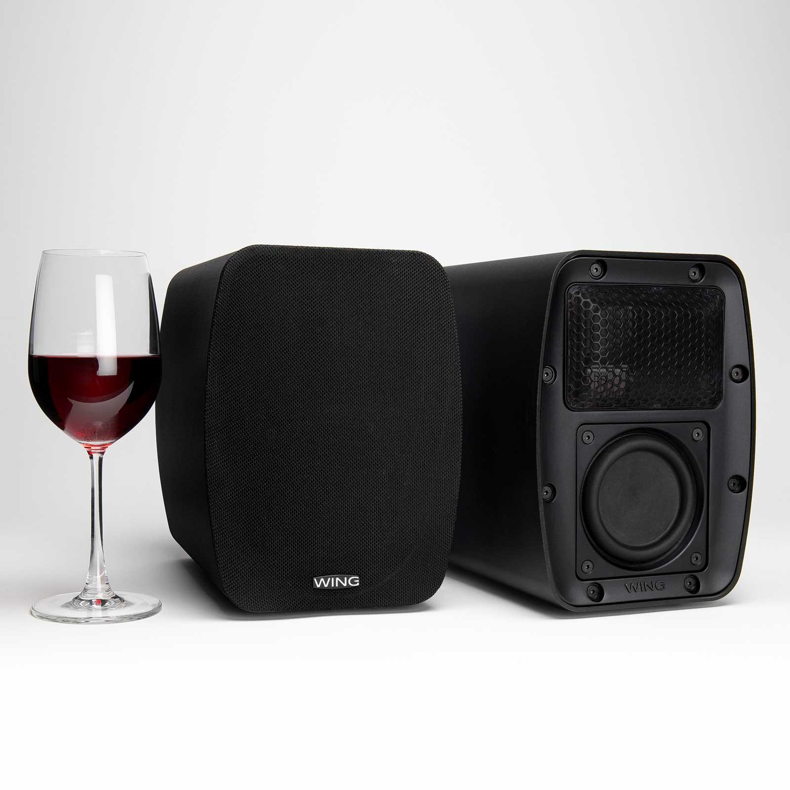 Wing - World's best shelf speakers